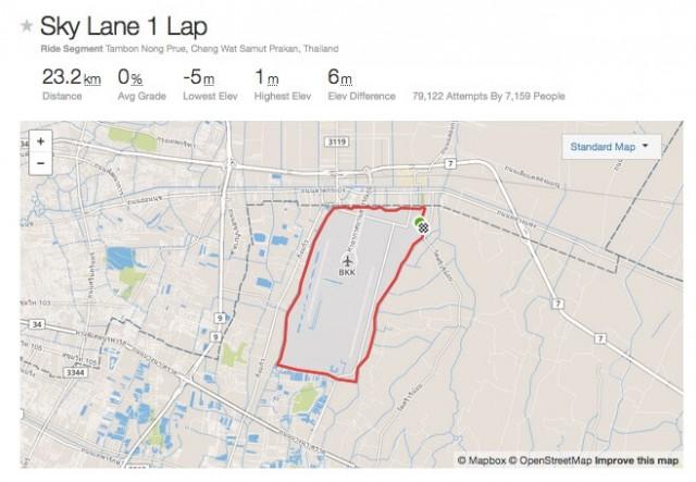 SkyLane-Strava-map